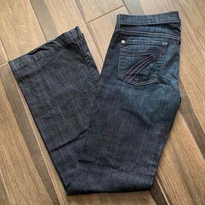 7 For All Mankind DOJO Dark Wash Wide Leg Jeans 30